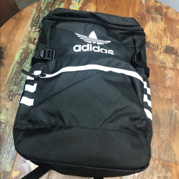 NWT Adidas Classic ZIP Top Backpack
